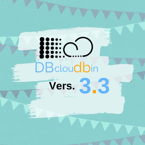 DBcloudbin v3.03 new features